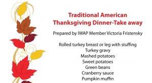 American thanksgiving dinner take away @ Strossmayerova namesti